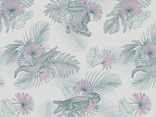 Mike - Pink & Grey - grand motif - Maison BONAMI