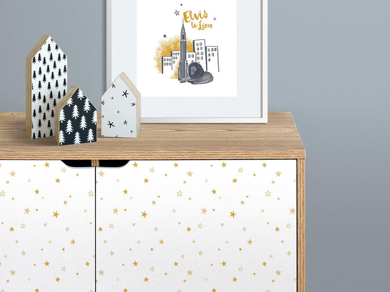 Little stars - Gold - petit motif