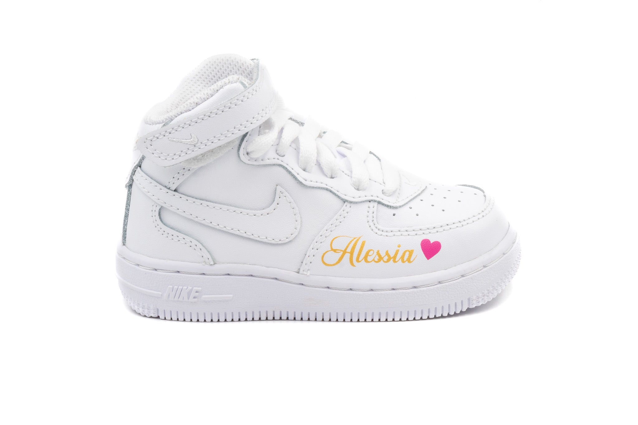 a8161325368e2 Charger l'image dans la galerie, NIKE Air force one MID Blanche ...