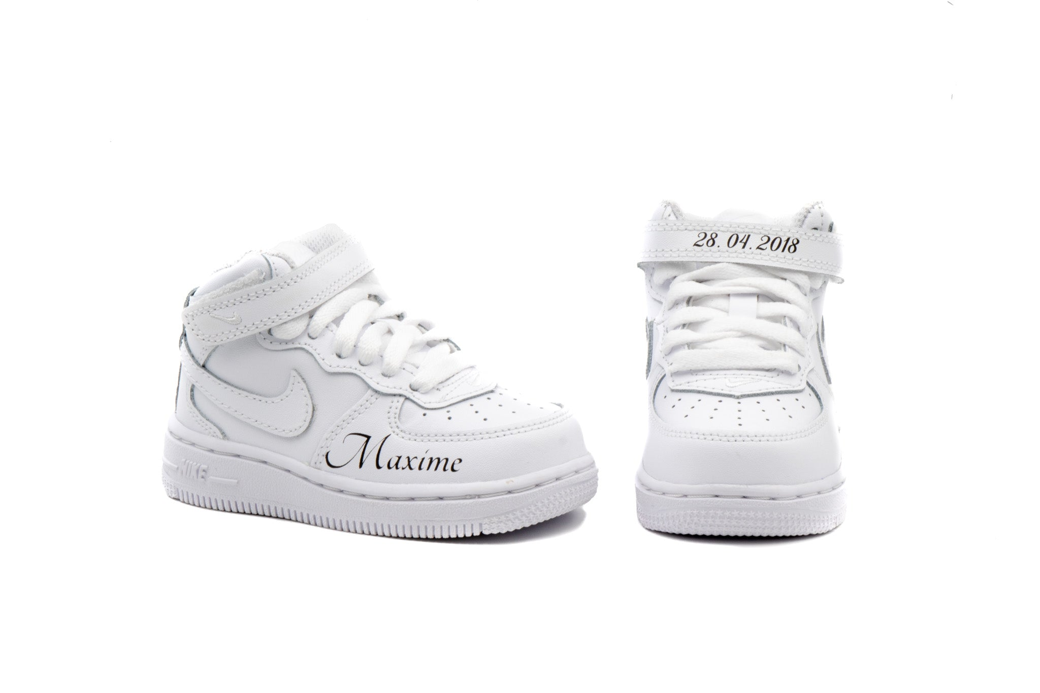 pretty nice 107e9 abe20 ... Charger l  39 image dans la galerie, NIKE Air force one MID Blanche