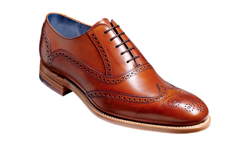 Valiant - Antique Rosewood Calf Brogue