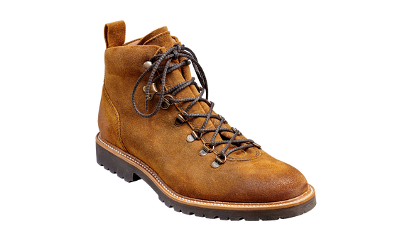 Glencoe - Tan Burnish Suede Mens Hiking Boot