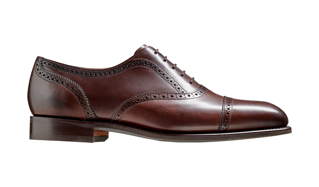 St Ives - Dark Walnut Oxford Shoe