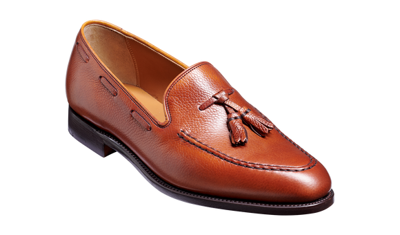 Newborough - Antique Rosewood Grain Loafer Shoe