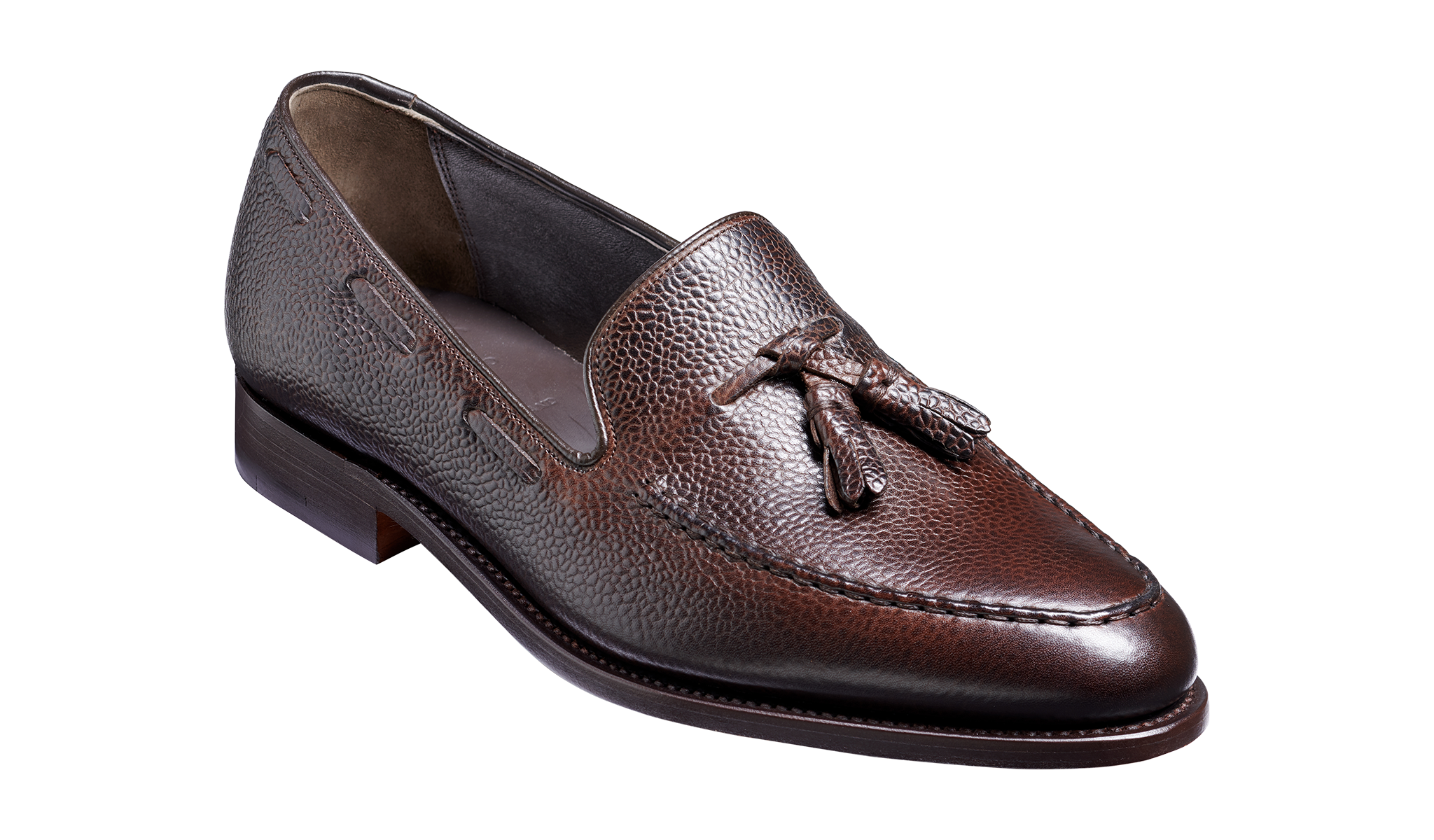 Newborough - A dark brown loafer for men.