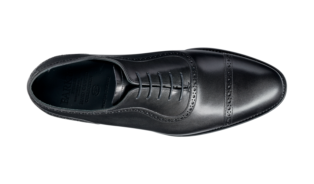Newmarket - Black Calf Oxford