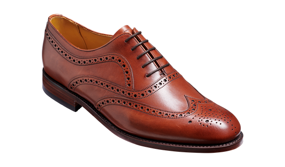 Southport - Rosewood Calf Brogue