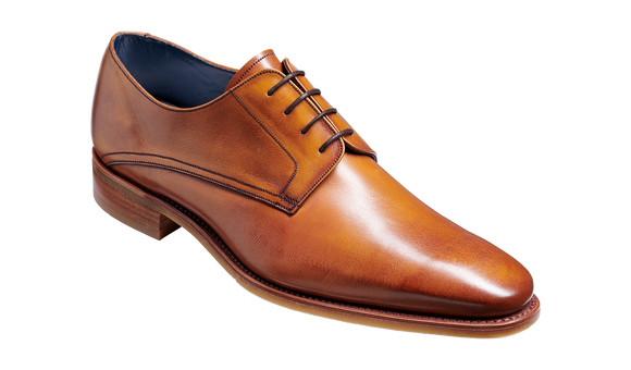 Max - Rosewood Calf Derby Shoe