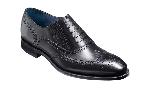 Timothy - Black Calf Brogue