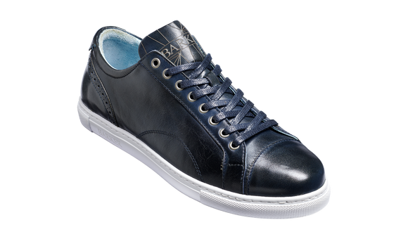 Ethan - Navy Hand Painted - Sneaker Shoe