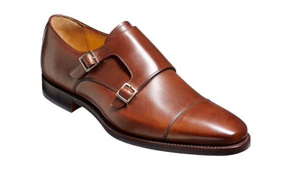 Edison - Dark Walnut Calf Monk Strap