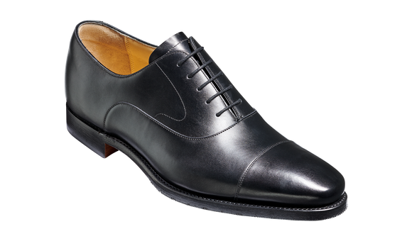 Wright - Black Calf Oxford Shoe
