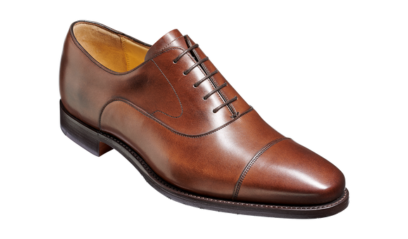 Wright - Walnut Calf Hand-Stitched Oxford
