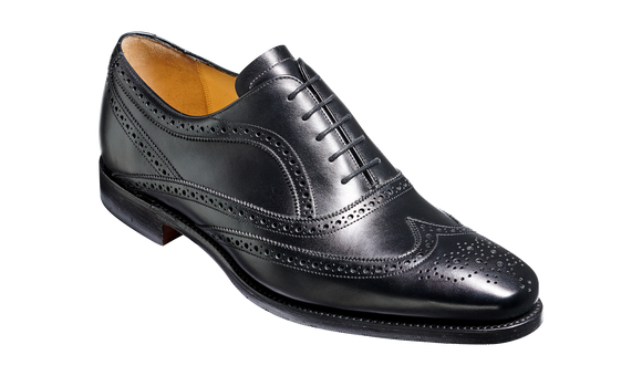 Turing - Black Calf Hand Stitched Oxford