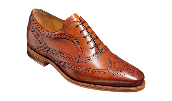 Turing - Antique Rosewood Oxford Oxford Shoe