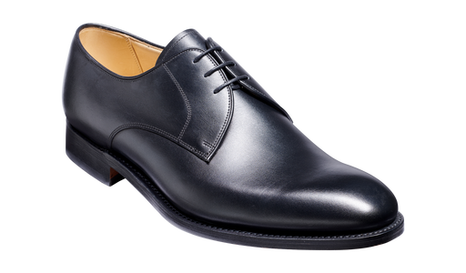 March - Black Calf Derby Shoe