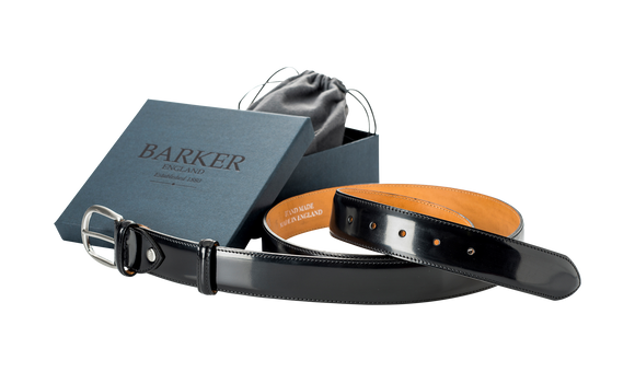 Plain Belt - Black Patent