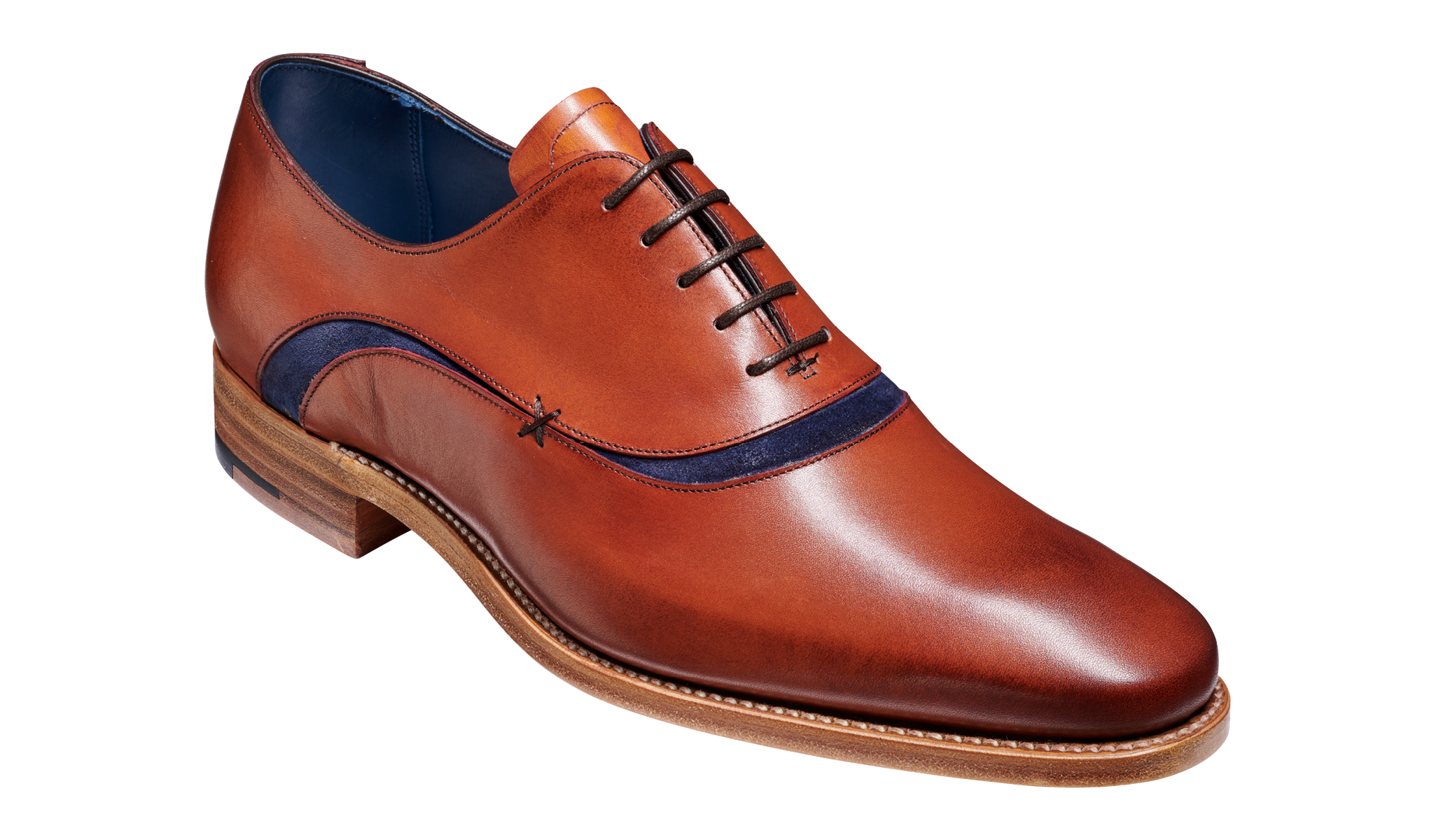 Emerson - A men's oxford shoe by Barker