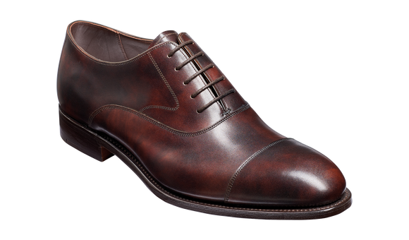 Falsgrave - Dark Brown Shadow Calf Oxford
