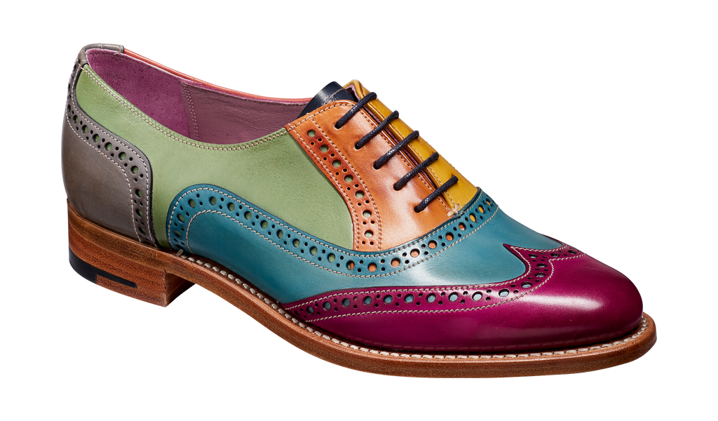 Fearne - Multi Coloured Women Brogue Shoe