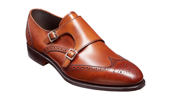 Fleet - Antique Rosewood Calf Wingtip Mens Shoe