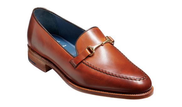 Frank - Rosewood Calf Loafer