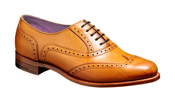 Freya - Cedar Calf Brogue Shoe