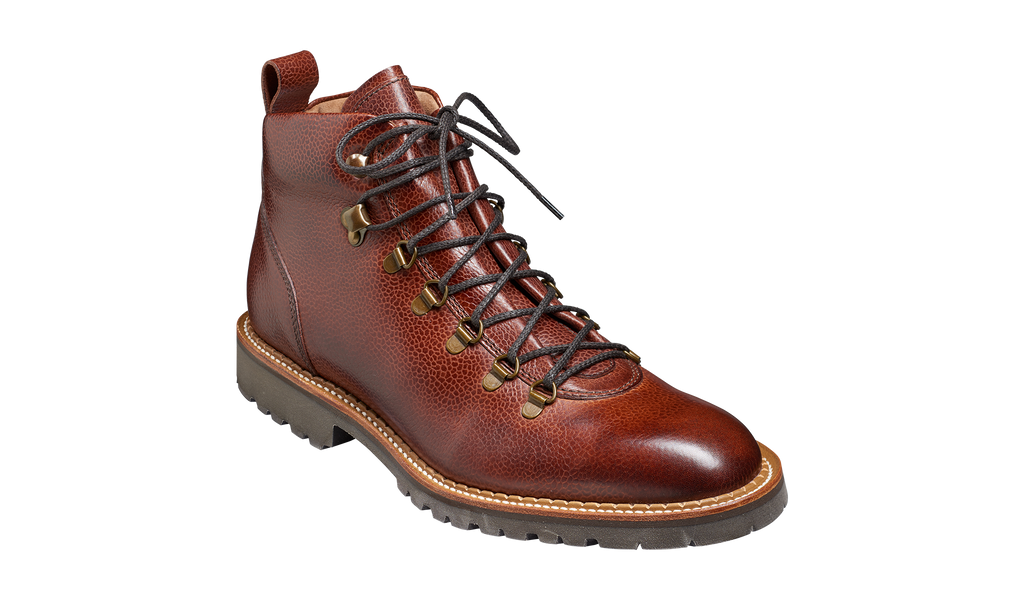 Glencoe - Cherry Grain - Hiker boot