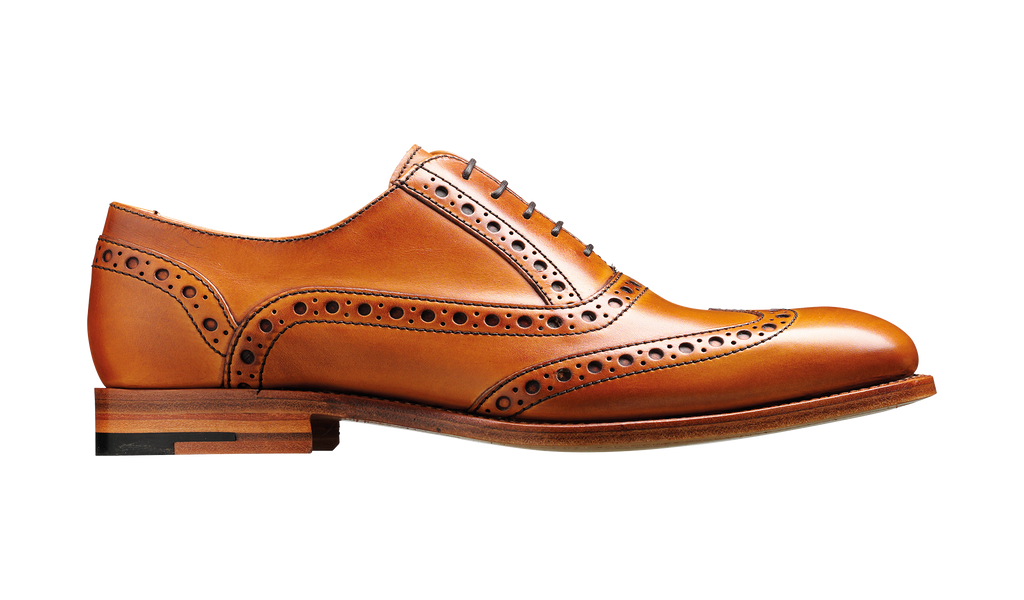 Grant - Cedar Calf Mens Brogue Shoe