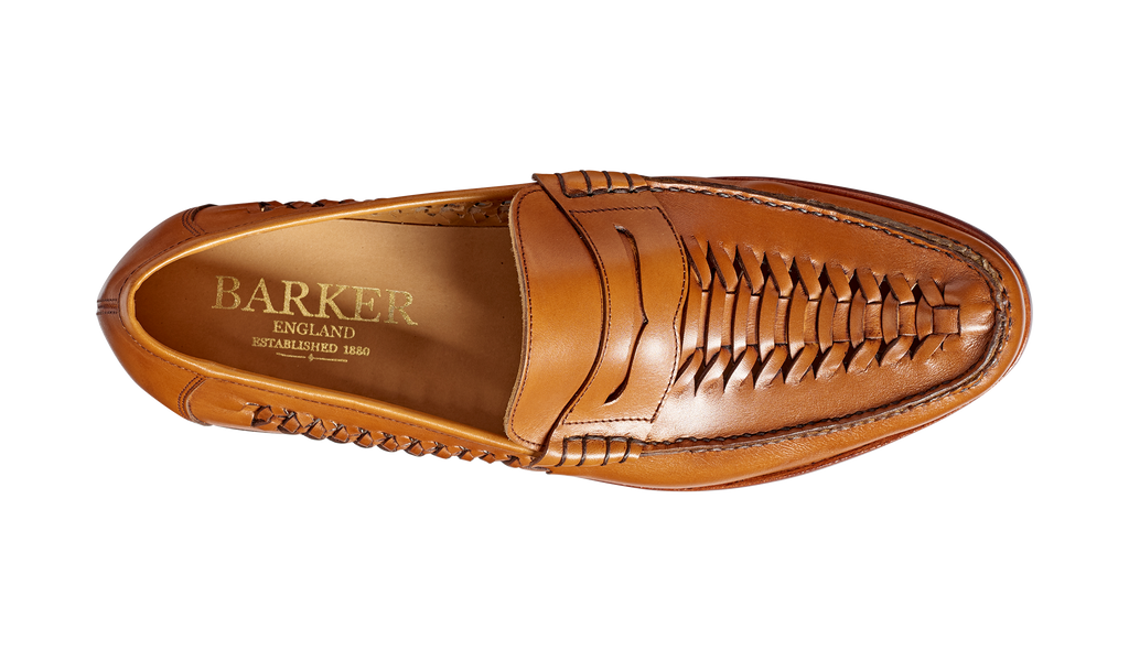 Jake - Cedar Calf Loafer Shoe