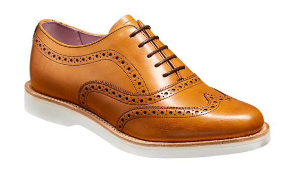 Josie - Cedar Calf Wingtip Brogue