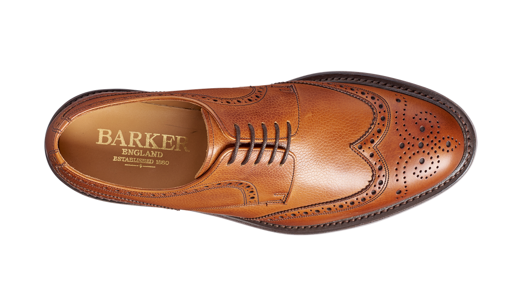 Kelmarsh - Cedar Grain Wingtip Brogue