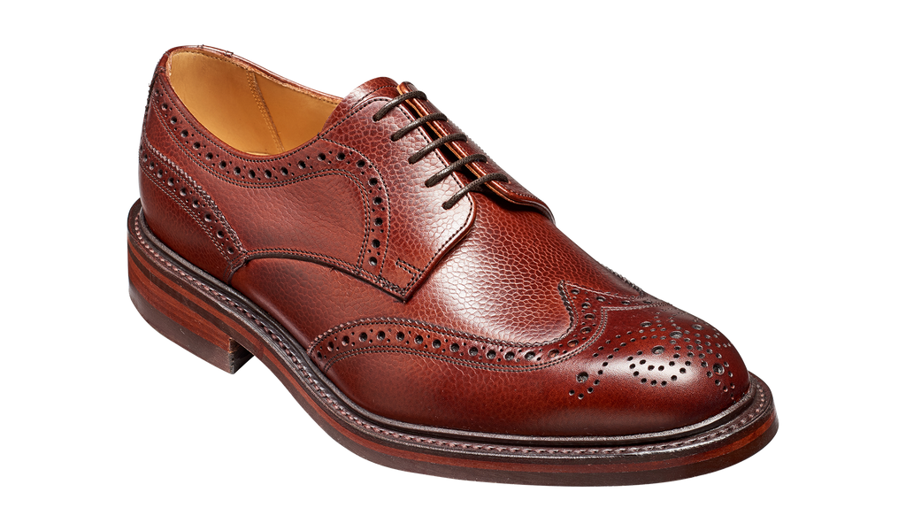 Kelmarsh - Cherry Grain Wingtip Brogue