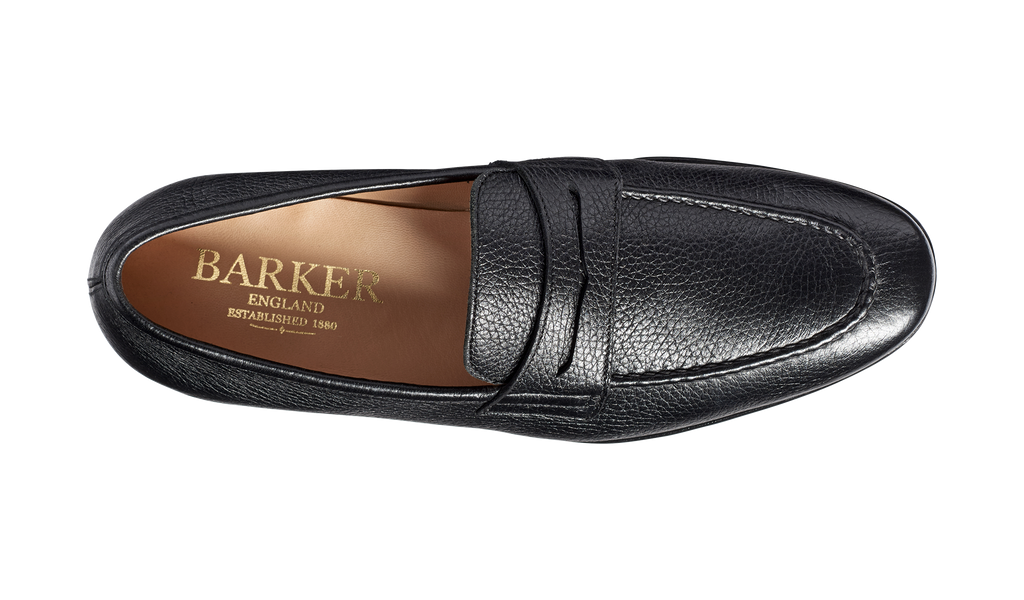 Ledley - Black Deerskin Loafer