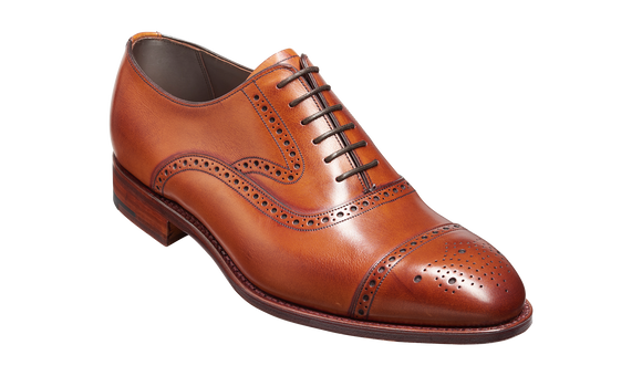 Lerwick - Antique Rosewood Calf Oxford