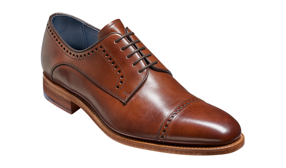 Marvin - Walnut Calf Derby Shoe