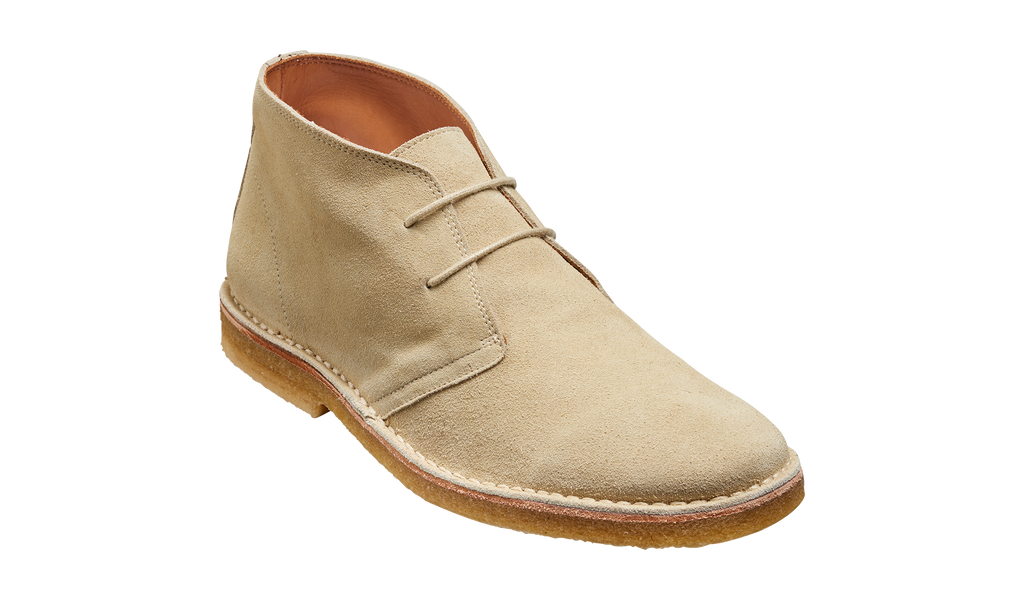 Monty - Sand Suede Boot