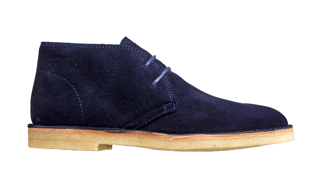 Monty - Navy Suede Boot