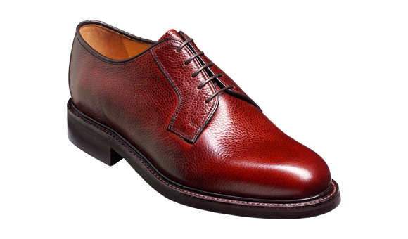 Nairn - Cherry Grain Derby Shoe