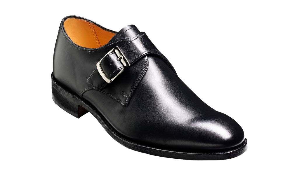 Northcote - Black Calf Monk Strap