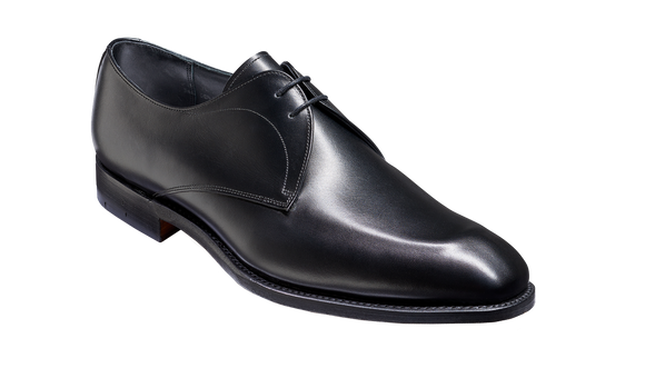 Purley - Black Calf Derby Shoe