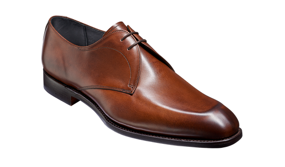 Purley - Dark Walnut Derby Shoe