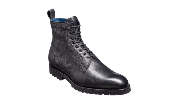 Sully - Black Deerskin Boot