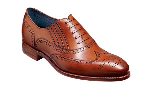 Timothy - Rosewood Calf Brogue
