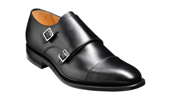 Tunstall - Black Calf Monk Strap