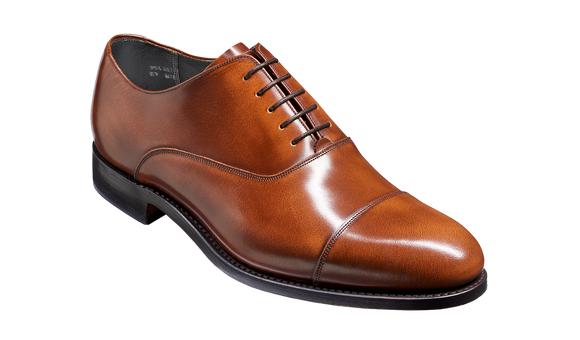 Winsford - Cedar Hi-Shine Oxford Shoe