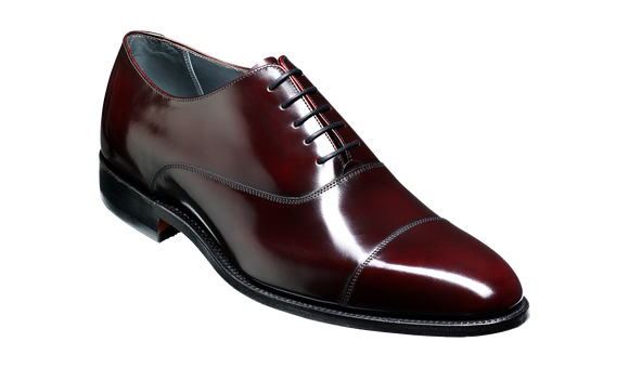 Winsford - Burgundy Hi-Shine Oxford