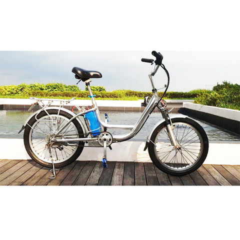 Pre-Loved Mini SR2 Chrome Pedal Assisted Bicycle (PAB)