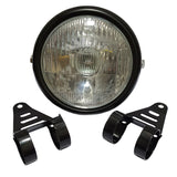 Retro Headlight Comes With Fork Holder Set