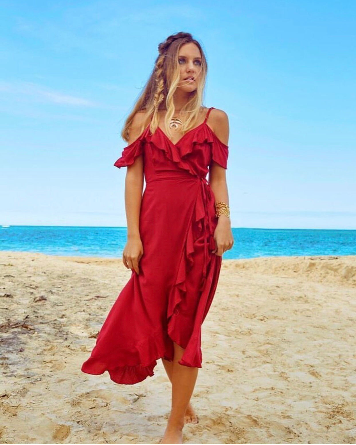Joya Wrap Dress